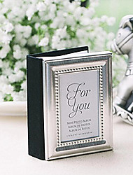 Baroque Metal Photo Album and Place Card Holder 4 x 3 inch Beter Gifts® DIY Party Decoration