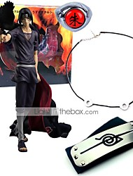 Anime Action Figures Inspired by Naruto Itachi Uchiha Sasuke PVC 23 CM Model Toys Doll Toy 4PCS