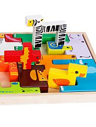 Конструкторы Обучающая игрушка Игры с последовательностью Для получения подарка Конструкторы Квадратный 1-3 лет Игрушки