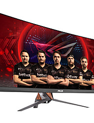 Asus rog swift moniteur d'ordinateur de jeu courbé 34 pouces 21: 9 ultra-large qhd (3440x1440) overclocking 100hz g-sync