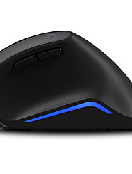 Dareu lm108 6keys usa 1600dpi mouse verticale metallico