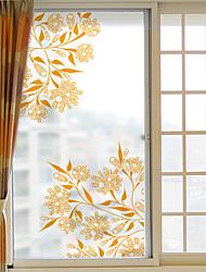 Art Déco Autocollant de Fenêtre,PVC/Vinyl Matériel Décoration de fenêtre