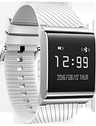 Муж. Смарт-часы Модные часы Цифровой Защита от влаги Pезина Группа Черный Белый