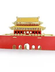 Quebra-cabeças Blocos de construção Brinquedos Faça Você Mesmo Arquitetura Chinesa