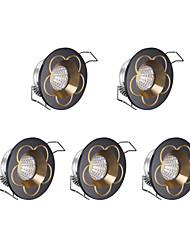 Luci LED per mobili Luce fredda 5 pezzi