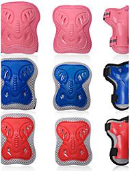 Crianças Material de Protecção Facilita a dor Respirável Skate