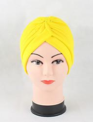 Для женщин Головные уборы Очаровательный На каждый день Изысканный и современный Шапки Вязаная одежда Вязаная шапочка Широкополая шляпа,
