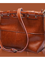 Women Bags All Seasons Cowhide Shoulder Bag with for Casual Outdoor Blue Black Brown