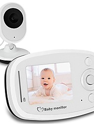 2.4G Wireless Video Baby Monitor with HD Camera Infrared Night Vision Two-way Talk Back System