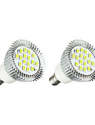 3W Faretti LED 16 SMD 5630 260-300 lm Bianco caldo Bianco AC 220-240 V 2 pezzi