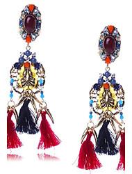 Mujer Pendientes colgantes Joyas De Gran Tamaño joyería de disfraz Resina de EVA Legierung Forma Geométrica Joyas Para Boda Fiesta