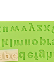 Cake Decoration Tools Letter Silicone Mold Fondant Mold Chocolate Fimo Clay Mold