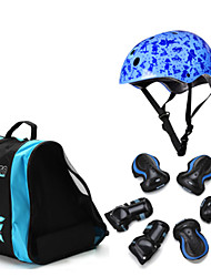 Roller Skincare Children's Helmet Set 7pcs Set Bicycle Skateboard Skating Ice Skating Skating Thickening Knee