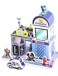 Jigsaw Puzzles DIY KIT 3D Puzzles Building Blocks DIY Toys Architecture High Quality Paper