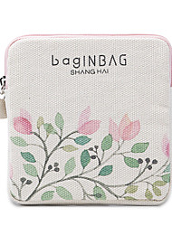 Women Bags All Seasons Canvas Storage Bag with for Casual Beige