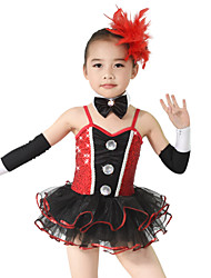 MiDee Children Dance Dancewear Children Girls Dance Dresses Kids Dance Costumes