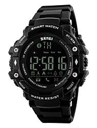 Smart Watch Calories brulées Pédomètres Suivi de distance Chronomètre Fonction réveille Chronographe Calendrier IR Pas de slot carte SIM