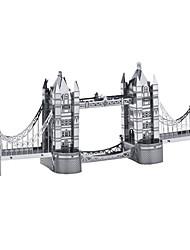 Quebra-cabeças Quebra-Cabeças 3D Quebra-Cabeças de Metal Blocos de construção Brinquedos Faça Você Mesmo Rectângular Alumínio