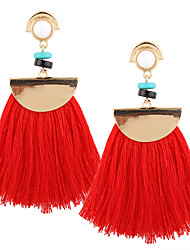 Euramerican Fashion Casual Unique Female Statement Jewelry Ladies Drop Earrings For Women Bohemian Tassels Dangle Earrings