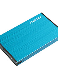 SEATAY HDAS6280-BL 2.5-Inch USB3.0 SATA FOR SSD And Mechanical Hard Disk Aluminum Alloy Blue