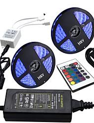72W Conjuntos de Luzes 6000-7000 lm AC100-240 V 10 m 300 leds RGB