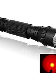 Torce LED LED 500 Lumens 1 Modo LED 18650 16340 CR123A Portatile Resistente agli urti UltraleggeroCampeggio/Escursionismo/Speleologia