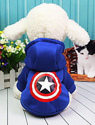 Dog Costume Coat Dog Clothes Casual/Daily American/USA