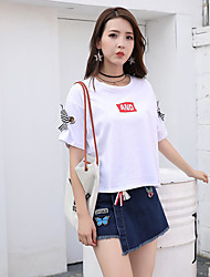 Women's Casual/Daily Mini Skirts A Line Geometric Summer