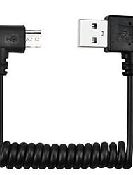 Cwxuan USB 2.0 Кабель, USB 2.0 to USB 2.0 Micro USB 2.0 Кабель Male - Male Позолоченная медь 1.0m (3FT) 480 Мб/сек.