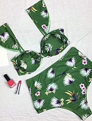 2017 Newest bikini Printed Swimming Suit Women's Bikini Floral Print Sexy Women Bikini Sets