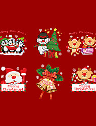 Wall Stickers Wall Decals Merry Christmas PVC Wall Stickers