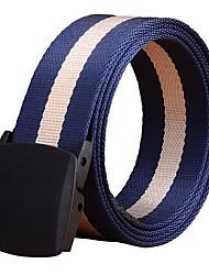Masculino Listrado Escritório/Negócio Liga Listas Cinto para a Cintura,Listrada