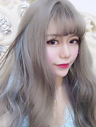 Sweet Lolita Long Curly Mixed Color Lolita Wig
