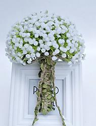Свадебные цветы Букеты Свадебное белье Кружево 25 см