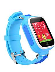 Kid's Smart Watch Digital Rubber Band Blue Purple