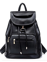 Women Bags All Seasons PU Canvas Shoulder Bag with for Casual Outdoor Black