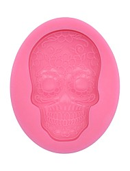 Skull SiliconeMold  SM-881
