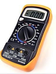 HYELEC MAS830 Professional Multifunction Mini Digital Multimeter/Buzzer Multimetro LCR Meter Ammeter Multitester
