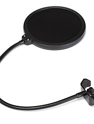 Studio Microphone Mic Wind Screen Pop Filter For Singing Recording With Gooseneck Holder
