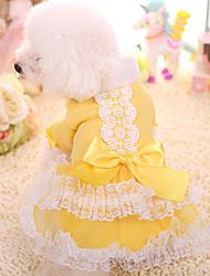 Cachorro Vestidos Roupas para Cães Mantenha Quente Princesa