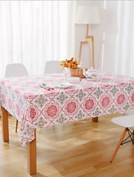 Simple Style Rectangle Cotton And Linen Table Cloth 40*60cm
