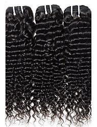 Tissages de cheveux humains Cheveux Brésiliens Bouclé 12 mois 3 Pièces tissages de cheveux