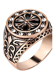 Women's Ring Euramerican Fashion Vintage Ladies Statement Rings Casual Unique Luxury Elegant Charm Jewelry Crystal Resin Alloy Finger Rings