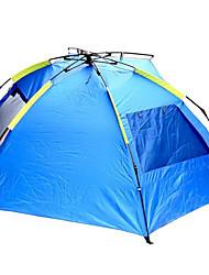 2 человека Световой тент Тент для пляжа Палатка Автоматический тент Хорошая вентиляция Водонепроницаемость Дожденепроницаемый для Полотно