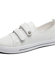 Для женщин Кеды Удобная обувь сутулятся сапоги Полиуретан Весна Осень Повседневные Для прогулок Удобная обувь сутулятся сапоги ШнуровкаНа