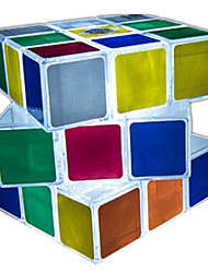 Rubik's Cube Smooth Speed Cube LED Lighting Magic Cube Plastics