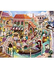 Jigsaw Puzzles Jigsaw Puzzle Building Blocks DIY Toys Cartoon Wooden