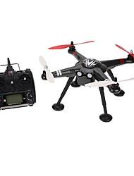 Drone WL Toys X380 2 Axes FPV Eclairage LED Retour Automatique Sécurité Intégrée Mode Sans TêteQuadri rotor RC Télécommande Câble USB