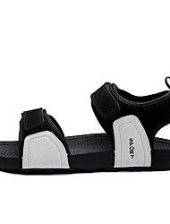 Women's Sandals Gladiator Spring Summer Fleece Casual White Black Flat