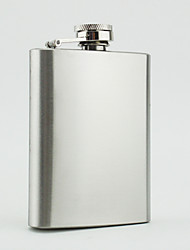 The Stainless Steel  4 -oz   Flask  Hip Flask
